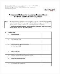 free proposal forms printable sample construction proposal