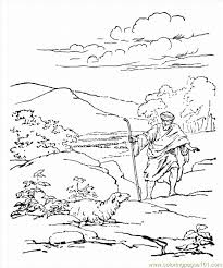 parablelostsheep coloring free sheep coloring pages