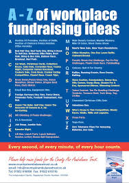 workplace fundraising ideas list of ideas for raising funds