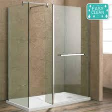 1400 Shower Door Matrix 1400 X 900mm Ultimate Walk In Enclosure W Side Panel Tray