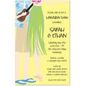 hawaiian themed wedding invitations wedding invitations tropical wedding invitations hawaii