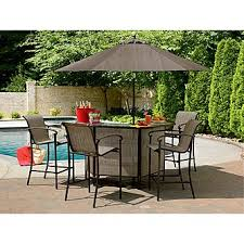 outdoor patio bar table garden oasis east point 5 pc bar set awesome outside sets within 18