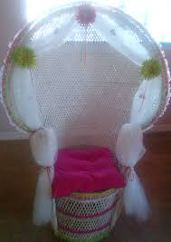 photo baby shower chair rental image