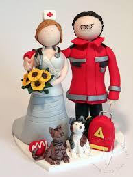 clay wedding cake ornaments