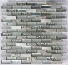 Best Marble  Metal Fusion Images On Pinterest Stone Mosaic - Stone glass mosaic tile backsplash