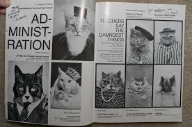cat yearbook cat high a yearbook for cats 24 pics pleated