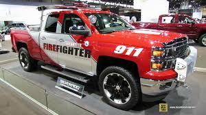 2015 chevrolet silverado volunteer fire fighter truck exterior