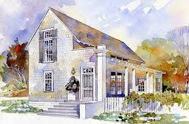 Cottage Living Home Plans by New Plan By Architect Bill Ingram Spacious Yet Small Rosebud