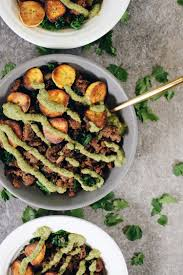 ground beef and plantain bowls paleo whole30