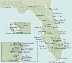 city wall maps of florida