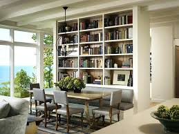 All Wood Bookshelves by Dining Table Simple Dining Parisian Dining Table Modern