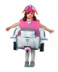 rubies paw patrol skye deluxe helicopter child girls halloween