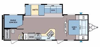 charming 2 bedroom travel trailer floor plans including