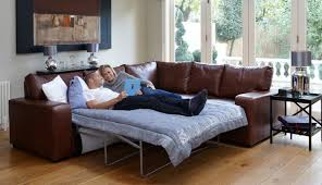 Real Leather Corner Sofa Bed With Storage by Real Leather Corner Sofa Bed U2013 You Sofa Inpiration