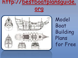 model boat building plans for free