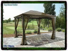 Grand Resort Gazebo by Amazon Com 10 X 12 Hardtop Gazebo Metal Steel Roof Outdoor Patio