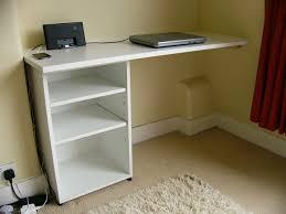Wall Mount Laptop Desk by Floating Corner Desk Offering Spacious Visage Homesfeed
