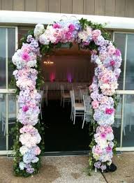 wedding arches sydney pink purple and white floral arch events