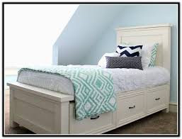 beauty twin bed with storage drawers beach house pinterest
