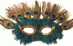 feather mask peacock feather mask by smileyme