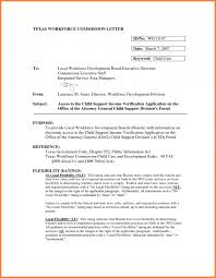 sample of child support letter agreement letter templates 7 free