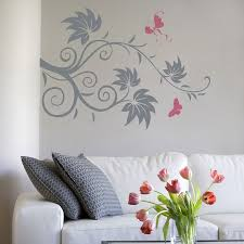 wall decals cozy wall decals floral removable wall decals floral