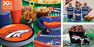 Nfl Decorations How To Prepare For The Super Bowl Broncos Style Verge Campus