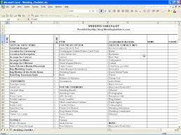 Wedding Budget Spreadsheet Uk by Wedding Planning Checklist Excel Thebridgesummit Co