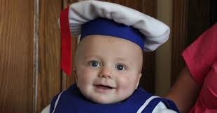 stay puft marshmallow man halloween costume 35 babies in halloween costumes who actually couldn u0027t be cuter