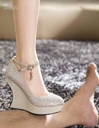wedding shoes wedges ivory wedding shoes wedges best images collections hd for gadget