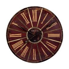 amazing red large wall clock 49 large red metal wall clocks cafe