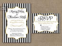 black and white striped wedding invitations 31 black and white striped wedding invitations vizio wedding