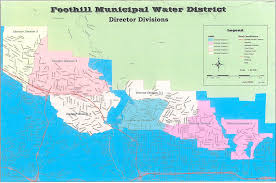 Map Southern California California Water Districts Map California Map