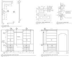 Bookcase Plan Caprock Design U2013 Study Bookcase Drawings U2013 Study Plan Bookcases