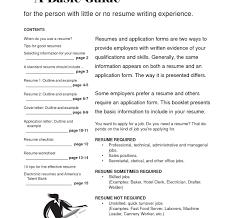 standard resume exles experienced resume free resume template