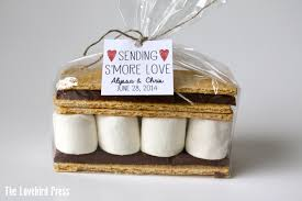 smores wedding favors smore wedding favor tag rustic personalized printable