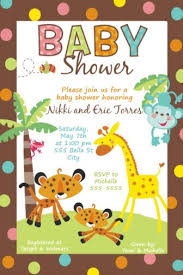 unisex baby shower fisher price rainforest baby shower invitations match the