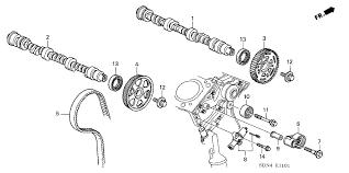 2003 honda accord v6 timing belt replacement 14520 rca a01 genuine honda tensioner timing belt auto