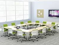 Herman Miller Conference Room Chairs Meeting Room Table With Chairs Along The Sides And Projector
