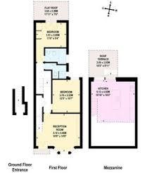 terraced house loft conversion floor plan sw6 mezanine kitchen terrace 2 bedroom 2 bath floor plan 01 house