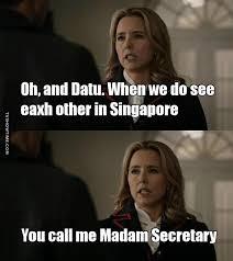 Madam Meme - tv time madam secretary s03e15 break in diplomacy tvshow time