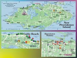 Cayman Islands Map In The World by Island And City Maps The Caribbean Stadskartor Och Turistkartor