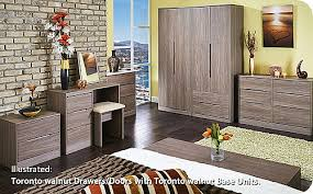 walnut bedroom furniture toronto walnut bedroom range 14 colour combinations available