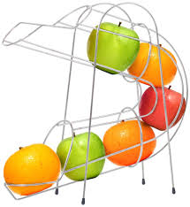 Cool Fruit Bowls by Amazon Com Chef Buddy Curved Fruit Chute Kitchen U0026 Dining