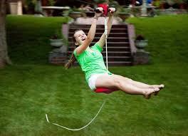 backyard zip line ideas