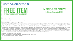 bath and body works coupon free shipping 2018 apple store