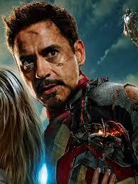 Tony Stark 768x1024 Iron Man 3 Tony Stark Pepper Potts Ipad Wallpaper