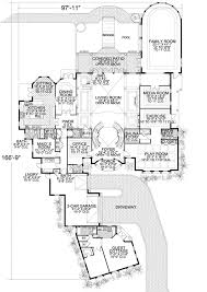7 bedroom house plans coastal style house plans 10591 square foot home 2 story 7