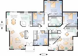 Familyhouseplans House Plans For Multi Generational Families Duplex Great For