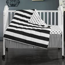 Black And White Crib Bedding Set Black Crib Bedding Sets You Ll Wayfair